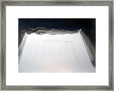 A Momentary Lapse Of Reason Framed Print by Lazaro Hurtado