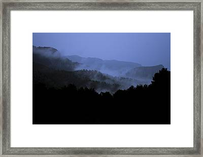 Framed Print featuring the photograph A Monks View by Stewart Scott