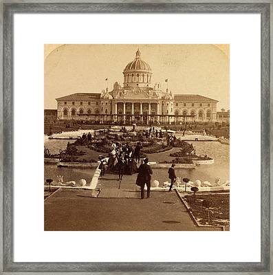 A Monument To Enterprise, The Inter-state And West Indian Framed Print by Litz Collection