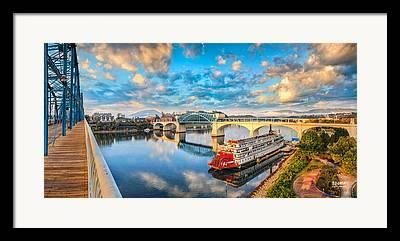Market Street Bridge Framed Prints