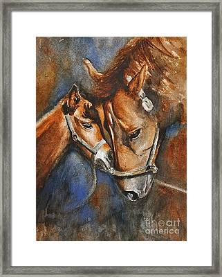 A Mother's Love Framed Print by Andrea Timm