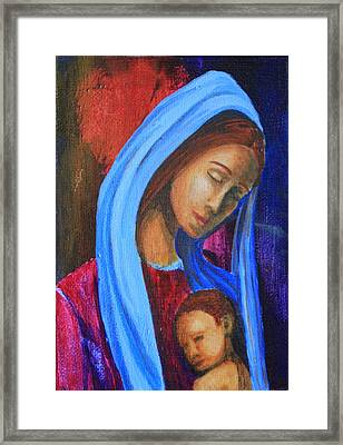 A Mothers Love Framed Print