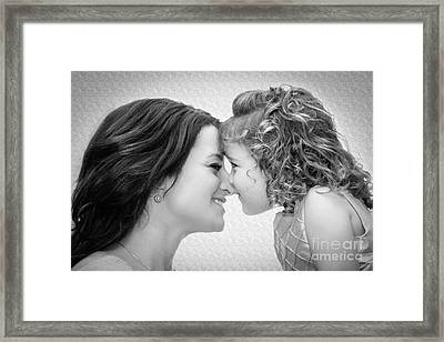 A Mother's Love Framed Print by Christine Nunes