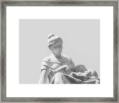 A Mother's Love Framed Print by Christina Klausen