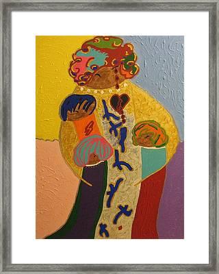 A Mother's Love Framed Print by Clarissa Burton