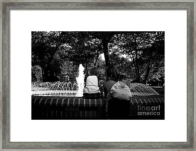 A Mother's Love Framed Print by Frank J Casella
