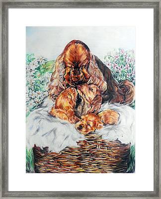 A Mother's Love Framed Print by Melanie Alcantara Correia