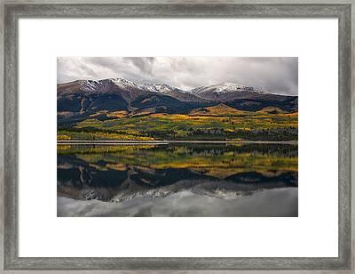A Mt. Elbert Fall Framed Print