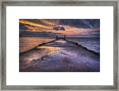 A New Beginning Framed Print by Evelina Kremsdorf
