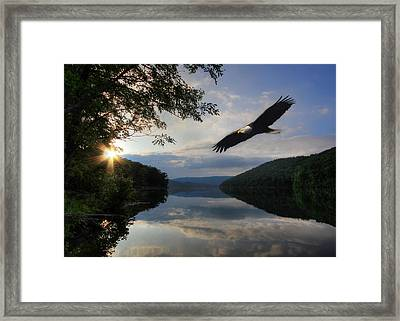 A New Beginning Framed Print by Lori Deiter