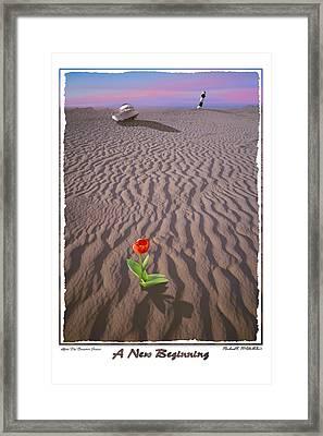 A New Beginning Framed Print by Mike McGlothlen