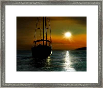 A New Beginning Framed Print by Ron Grafe