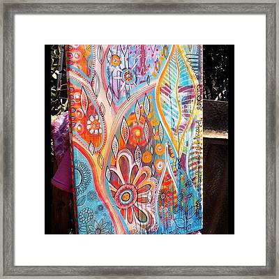 A New Canvas ...it's All About Framed Print