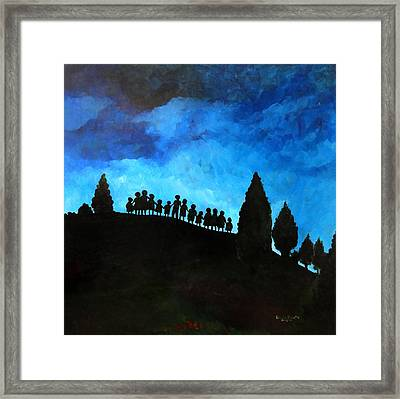 A New Dawn Rising Framed Print by Patricia Brintle
