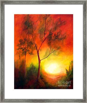 A New Day Framed Print