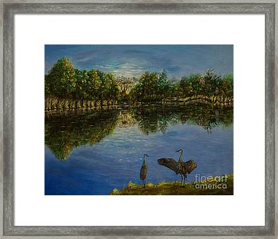 A New Day Begins Framed Print by Zina Stromberg
