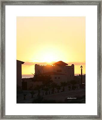 Framed Print featuring the photograph A New Day by Dick Botkin