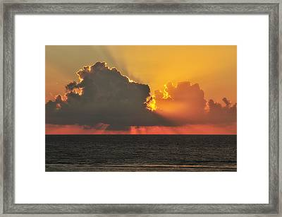 A New Day Has Arrived Framed Print