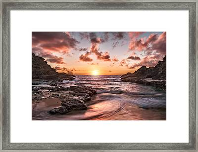 A New Day In Paradise Framed Print by Eduard Moldoveanu