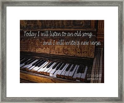 A New Day Framed Print by Lee Craig