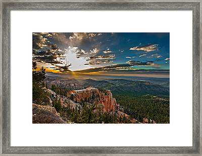 A New Day Framed Print by Phil Abrams