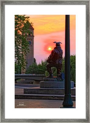 A New Day Tomorrow Framed Print by Dan Quam
