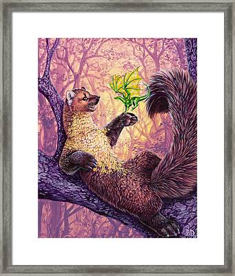 A New Friend Framed Print