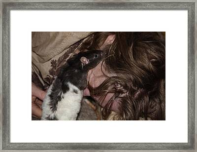 A New Kind Of Intimacy No 5 Framed Print