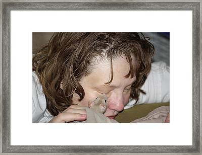 A New Kind Of Intimacy No One Framed Print