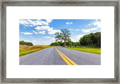 A New Melle Drive Framed Print by Bill Tiepelman