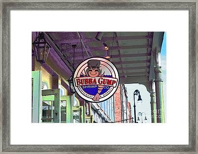A New Orleans Favorite Framed Print by Alys Caviness-Gober