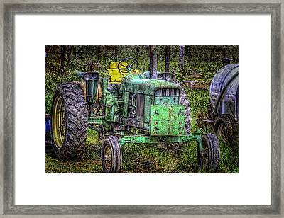 A New Seat Framed Print