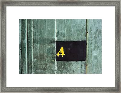 A New York A Framed Print by KM Corcoran
