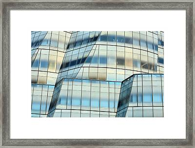 A New York Abstraction  Framed Print by JC Findley