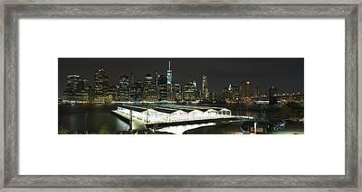 A New York City Night Framed Print