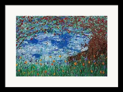Fruit Tree Giclee Paintings Framed Prints