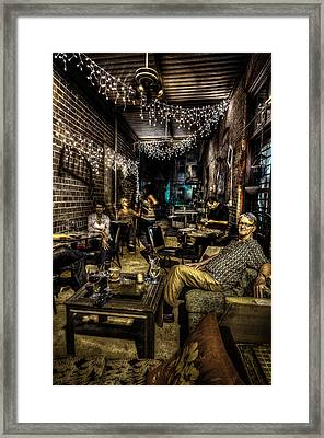 A Night At Br Vino Framed Print by David Morefield
