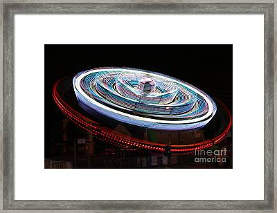 A Night At The Exhibition Framed Print by Tabitha Godin