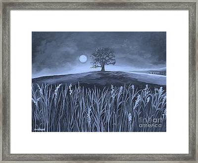 A Night At The Plains Framed Print