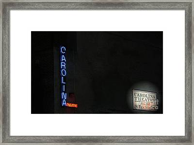 A Night At The Theatre Framed Print by Karol Livote