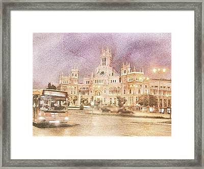 A Night In Madrid  Framed Print