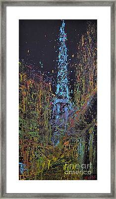 A Night In Paris Framed Print