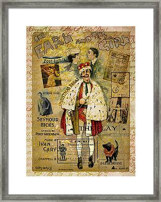 A Night On The Town Christmas Treat Framed Print by Sarah Vernon