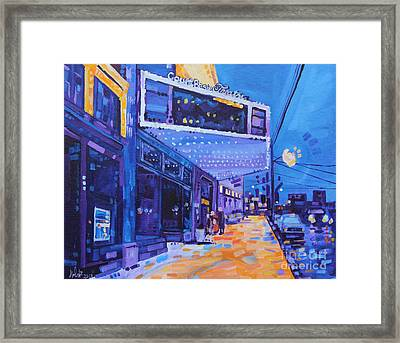 A Night Out Framed Print