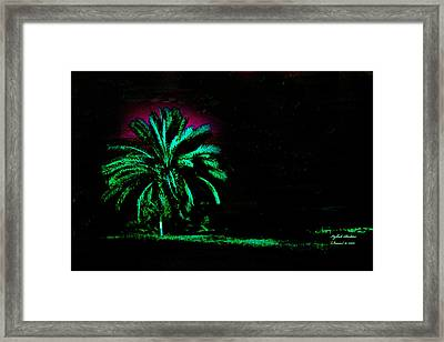 A Night Personality Framed Print