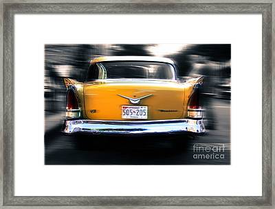 A Packard Of Wings Framed Print by Steven Digman