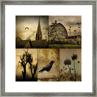 A Page  Framed Print by Gothicrow Images