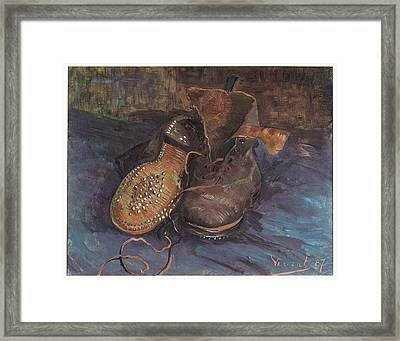 A Pair Of Boots Framed Print