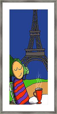 A Paris Framed Print