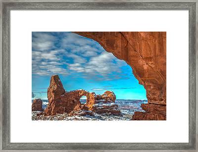 A Partial View Framed Print by Dustin  LeFevre